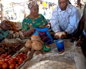 Mto wa Mbu Village Market